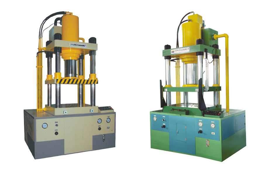 4 Column Double Action Deep Drawing Hydraulic Press