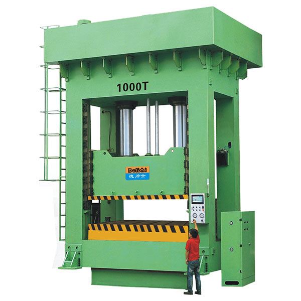 Frame Precision Hydraulic Molding Machine